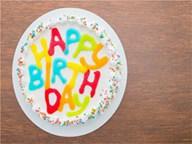 一周岁生日蛋糕祝福语(30句)